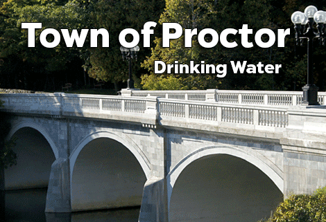 Town of Proctor Vermont Drinking Water